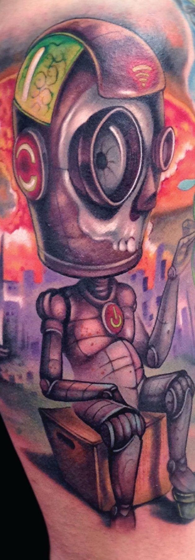 Robot by Jose Mota Ortega