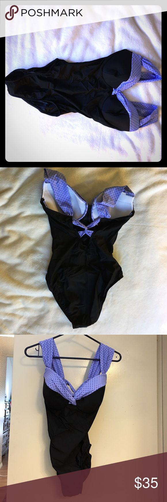 NWT Trimshaper D cup underwire swimsuit Brand new Trimshaper D cup underwire swimsuit, 3 available, made in USA Trimshaper Swim One Pieces