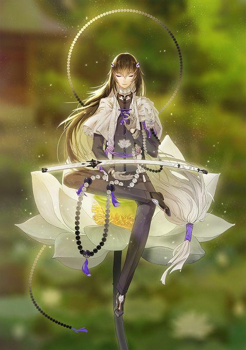 「数珠丸恒次」/「Tai_刀剣沼民(´・ω・`)」のイラスト [pixiv]