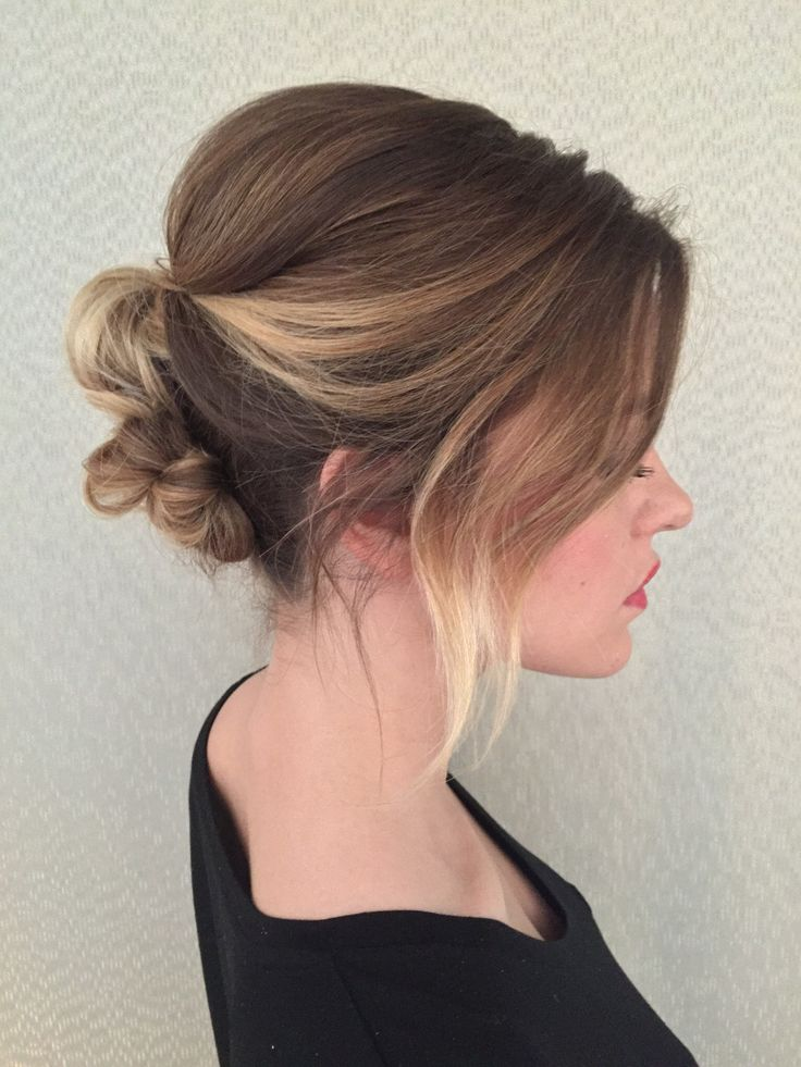 Classic Bridal Updo Hairstyle : 52 best my work: wedding hair images on pinterest