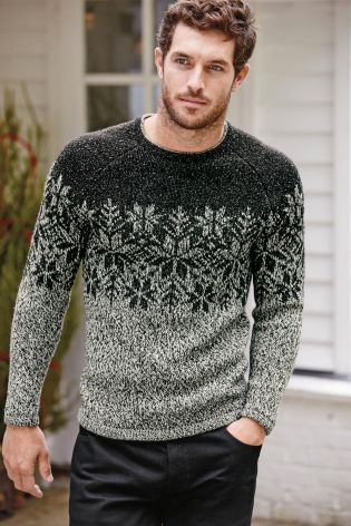 The Festive Snowflake Sweater is a lovely way to practice Fair Isle knitting while creating a garment that will stand the test of time. This classic knit sweater pattern is versatile enough for winter wear, yet spirited enough for holiday attire.