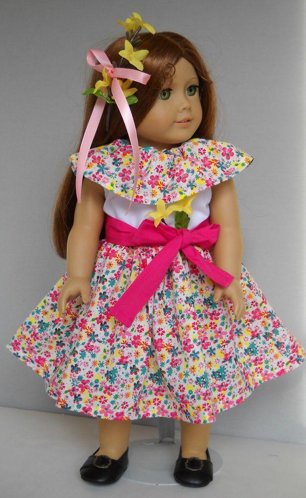Fits American Girl 18 Quot Dolls Puerto Rican Plena Dress