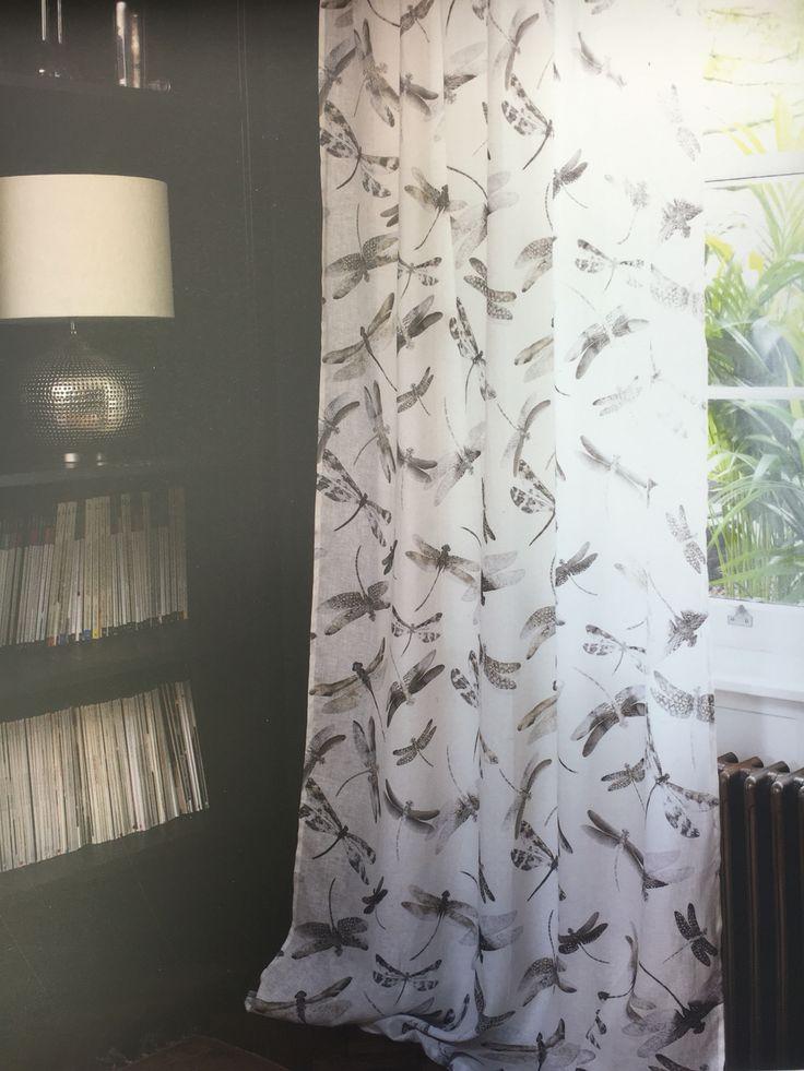gardinen leinen bedruckt pauwnieuws. Black Bedroom Furniture Sets. Home Design Ideas