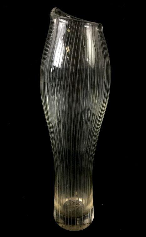 Tapio Wirkkala Littala Art Glass Vase C. 1957 SOLD $500