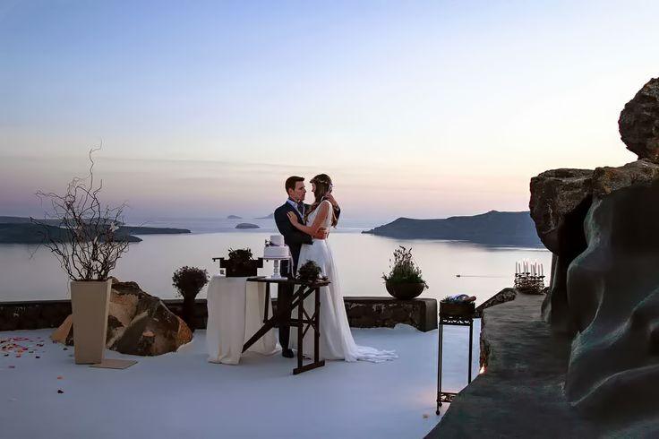 Wedding in Santorini, Imerovigli