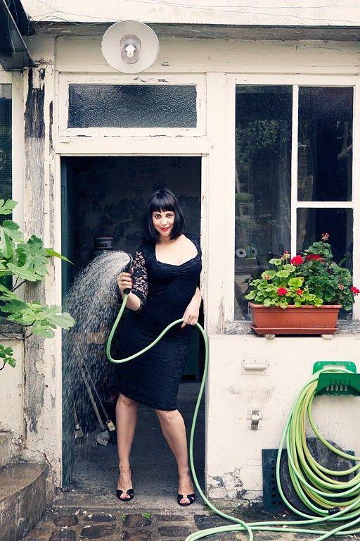 No.22 Photographer: Carla Coulson, Model: Miss Pirisi, Location: Paris atelier 6eme