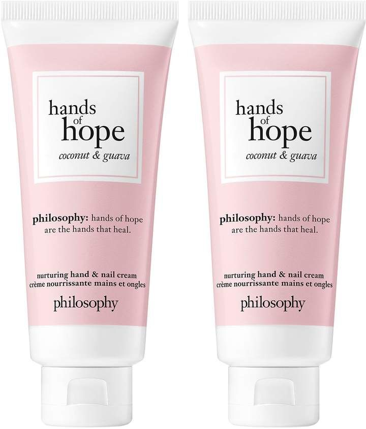 Philosophy Hands Of Hope Duo Qvc Com Cream Nails Shea Butter Pink Guava