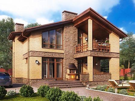 Проекты домов с мансардой, готовые проекты коттеджей с мансардой