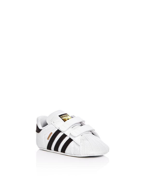 Adidas Unisex Superstar Crib Velcro Sneakers - Baby
