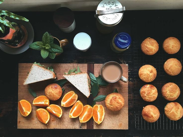 Home + kitchen + sandwiches + oranges + muffins featured on https://www.instagram.com/hellolunchlady/ Lunch Lady Magazine available at http://shop.hellolunchlady.com.au/