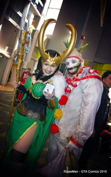 Twisty the clown by Rusty Sinner FX with Loki