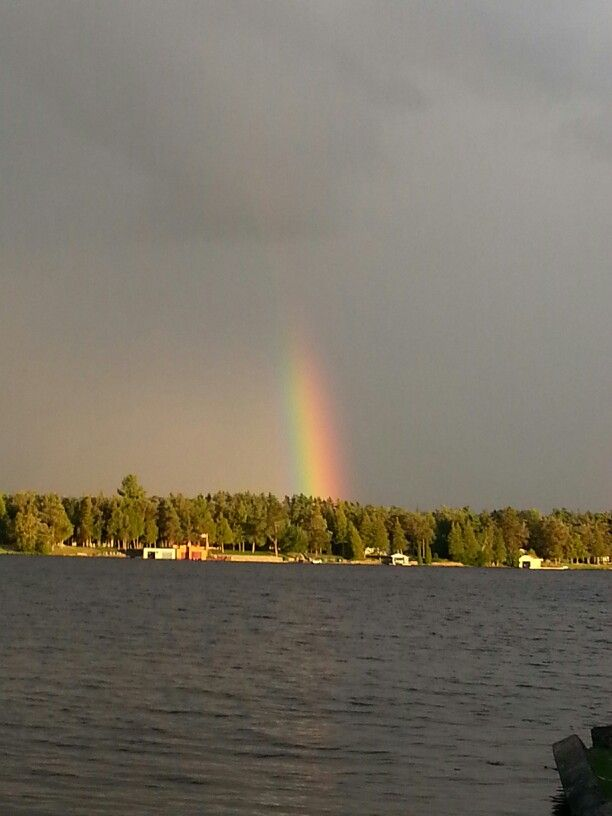 Beautiful rainbow in bobcaygeon