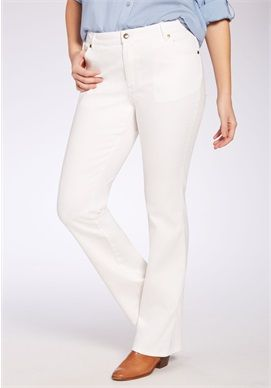 Plus Size Bootcut Stretch Jean