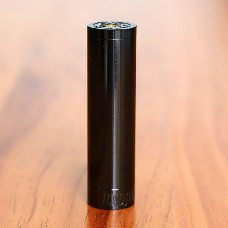 BROADSIDE STYLE 18650 MECHANICAL MOD - MATTE BLACK
