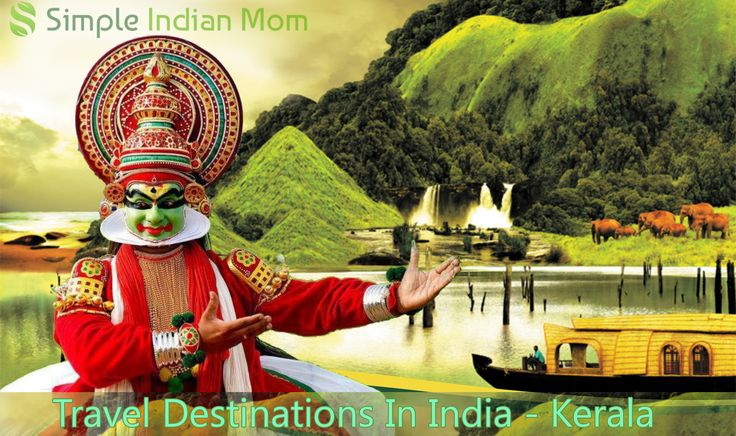 Travel Destinations In India - Kerala _ The climate is pleasant year round and hence known as one of the best travel destinations in India- Kerala,winter is special with the onset of monsoons.The land is filled with scenic waterfalls,captivating backwaters and the tranquilising hill stations.It is one of the top tourist places in India with its trademark boat houses.
