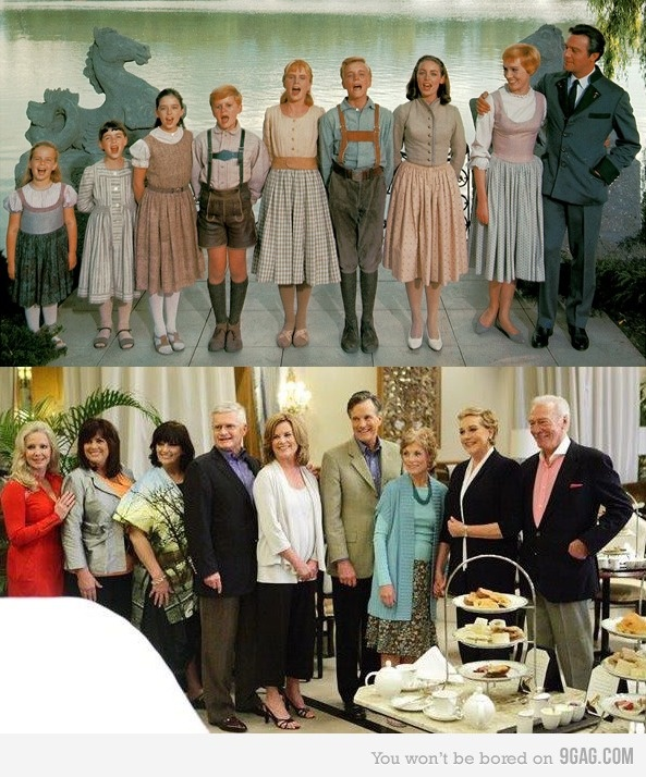Sound of Music reunion after 45 years. SO much excellence is happening.