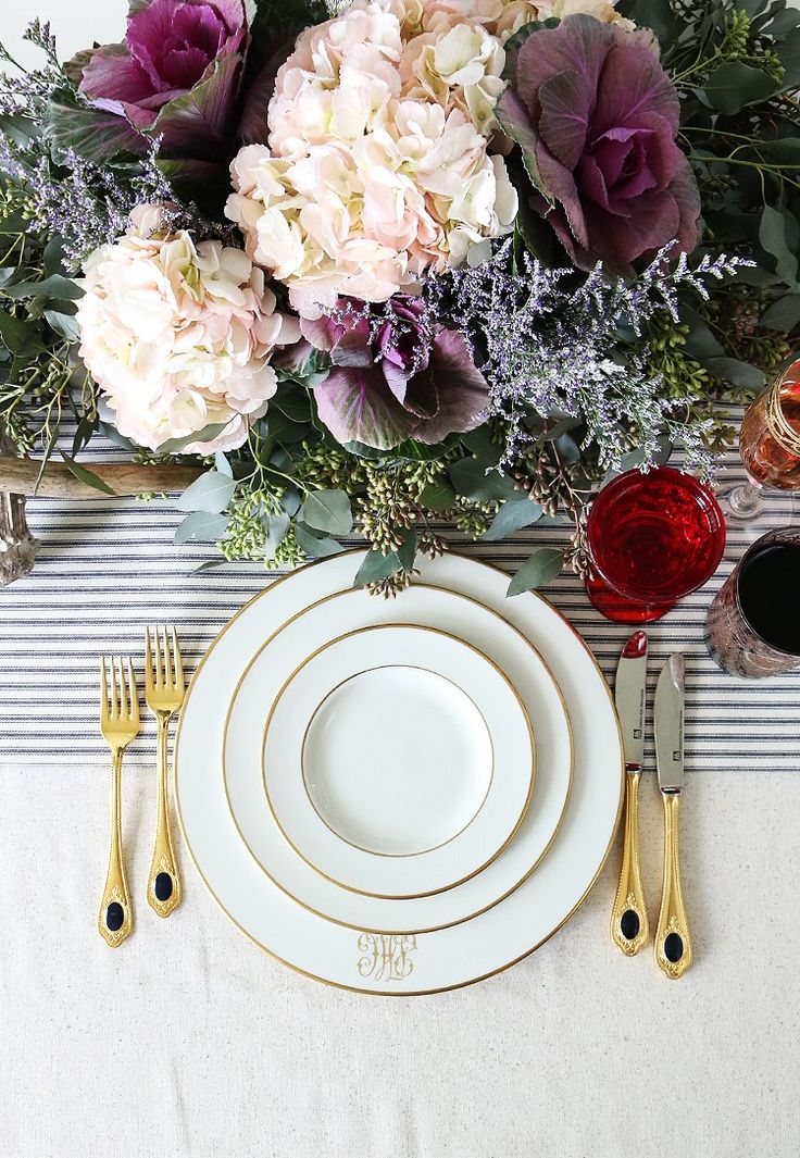 Are you looking for an elegant yet unique place setting for your dinner table? Stunning and elegant, this pattern is very well sought after by collectors and will certainly be a big hit with a great hostess.