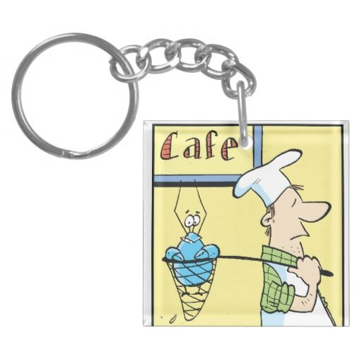 Bob the Crayfish Key Chain. Despite heading off to the cooking pot, Bob is in an upbeat mood. What's he got planned to escape from the chef?! $14.95 from Swamp Cartoons Zazzle Store #crayfish #zazzle http://www.zazzle.com.au/bob_the_crayfish_cafe_special_keychains-256373935952692891?rf=238572718574519812