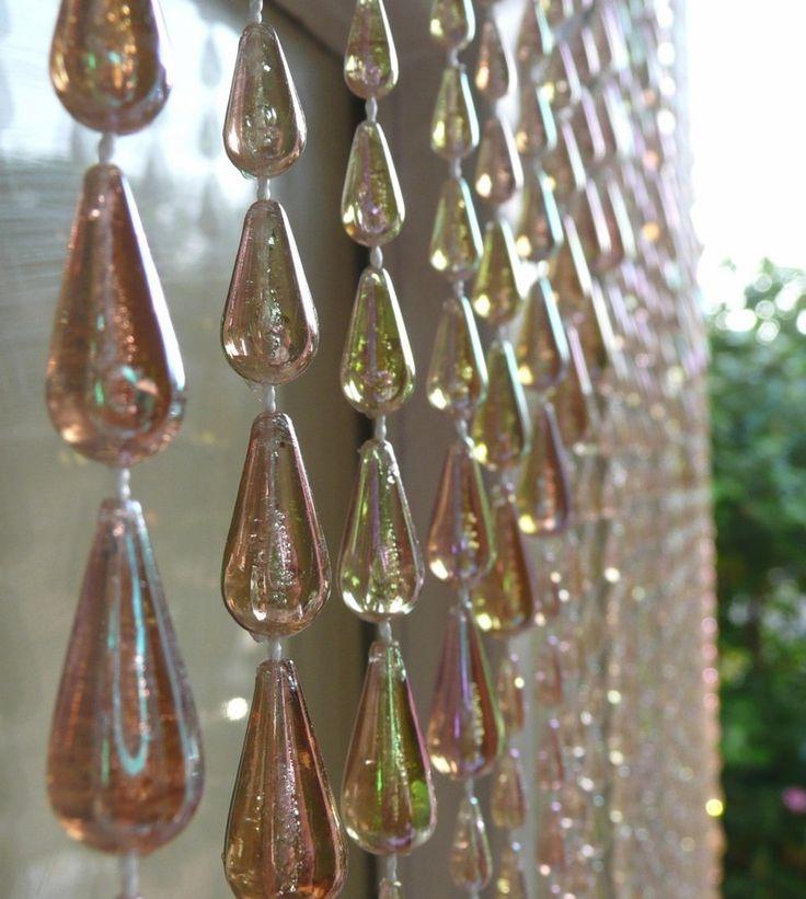 Best 25 brown curtains ideas on pinterest - Glass beaded door curtains ...
