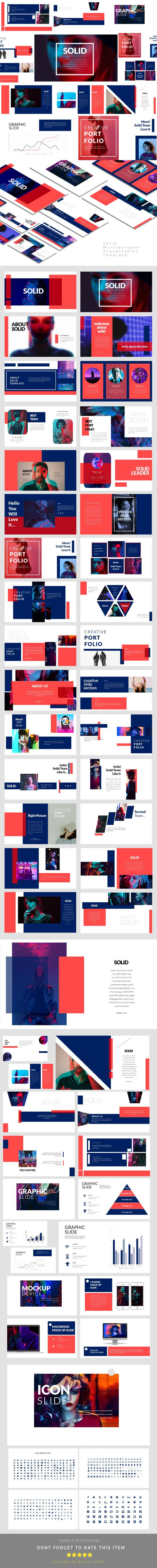 Solid - Creative #Keynote #Presentation Templates - Keynote Templates Presentation Templates