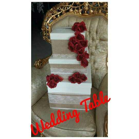 Scatola portabuste Wedding Table