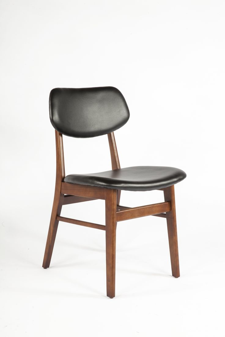 The Amalda Side Chair   Black