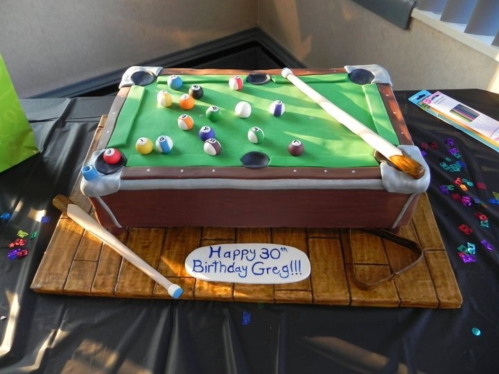 Finest 23 best Billiard Cupcake / Cake Ideas images on Pinterest | Cup  OA42