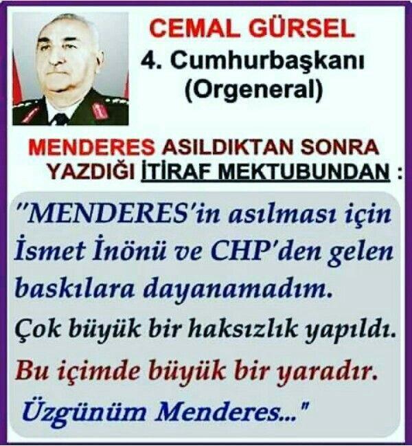#Orgeneral #CemalGürsel #chp #ismetinönü #AdnanMenderes #asker #darbe #Türkiye