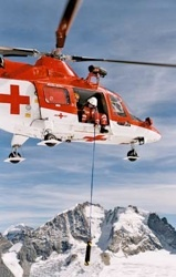 Avalanche Victim Search by Helicopter
