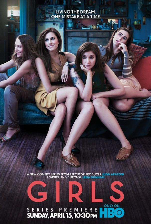 Girls, new show by Lena Dunham / Judd Apatow on HBO.  This show is hilarious...