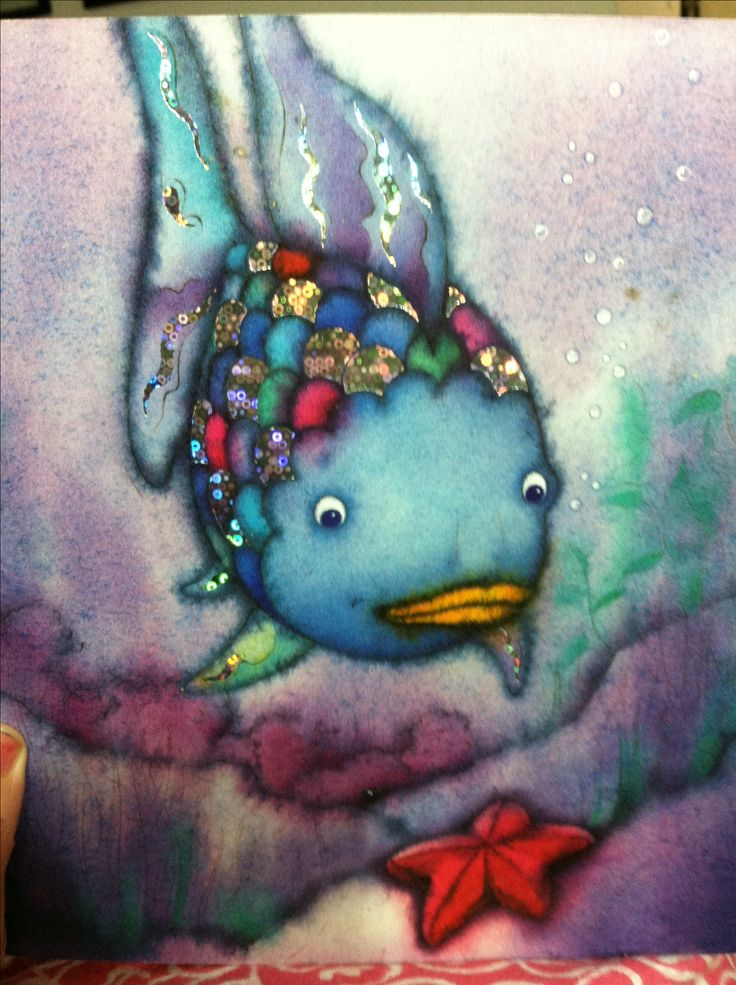 Rainbow fish book tattoo for The rainbow fish