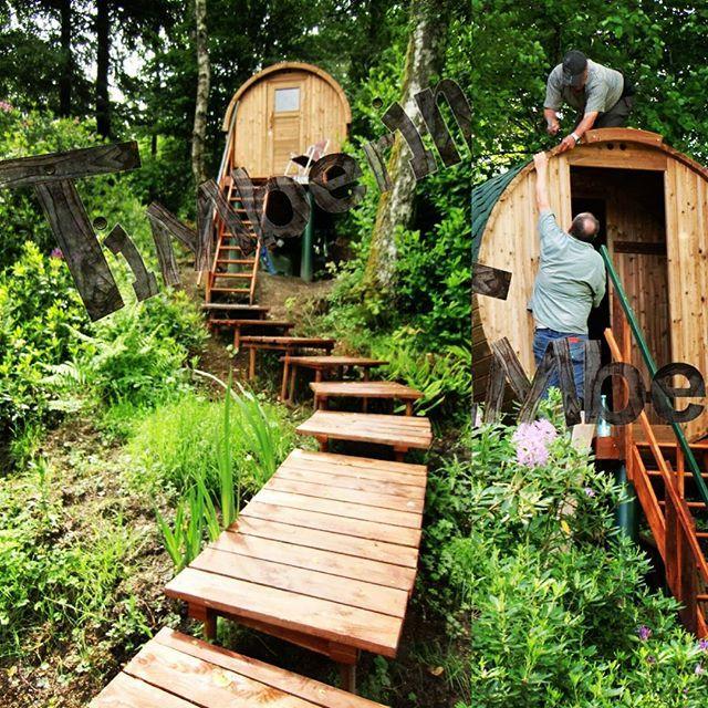 Building an outdoor sauna in the garden.    https://goo.gl/IkH0wf    #lovenature #jacuzzi #garden #gardening #gardeningtips #hottubs #spa #whatsbeautiful #happy #naturelife #outdoors #healthyliving #naturelover #beautifulhome #realxathome #pool #backyardliving #heatedpool #homedesign #nature_seekers #backyard #jardin #timberin    #Regram via @timberin.mb