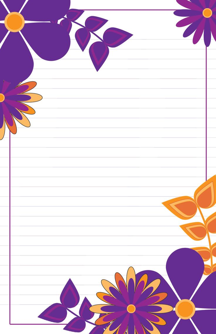 Boxed set of personalised a5 writing paper with