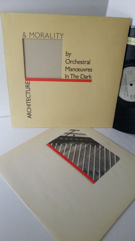 ORCHESTRAL MANOEUVRES IN THE DARK architecture & morality, die cut sleeve, 204 016-320 - ROCK, PSYCH, PROG, POP, SHOE GAZING, BEAT