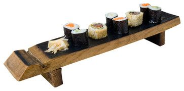 Sushi Board farmhouse-platters