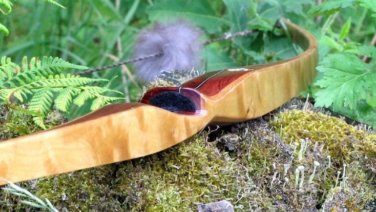 Mind-Factor Langbogen Klassik  Bogensport - Recurvebogen - Jagd - Holzkunst - Epoxy - Resin