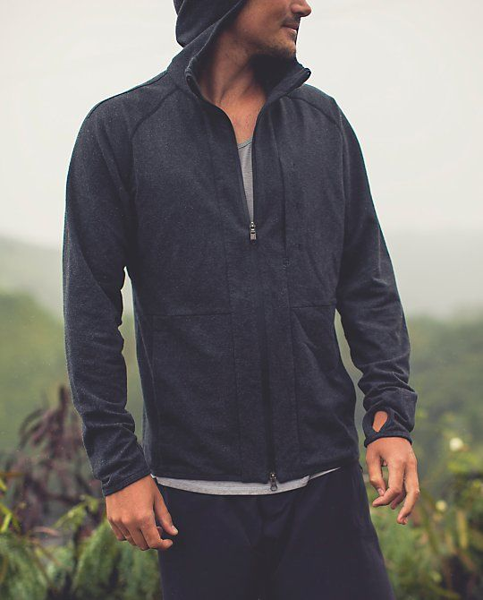 After a hard workout, we want a lightweight hoodie that won't stick to sweaty skin | Post Workout Hoodie