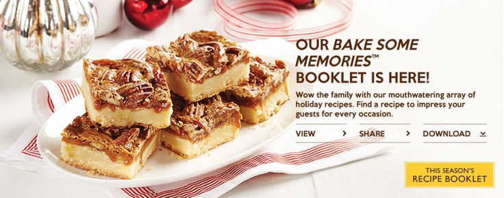 Fall Recipe Booklet 2014- Find yummy recipes in the latest Robin Hood Recipe Booklet