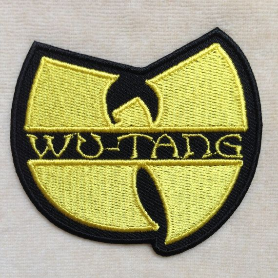 Wu Tang Clan Band Logo Iron On Patch by PatchForestShop on Etsy