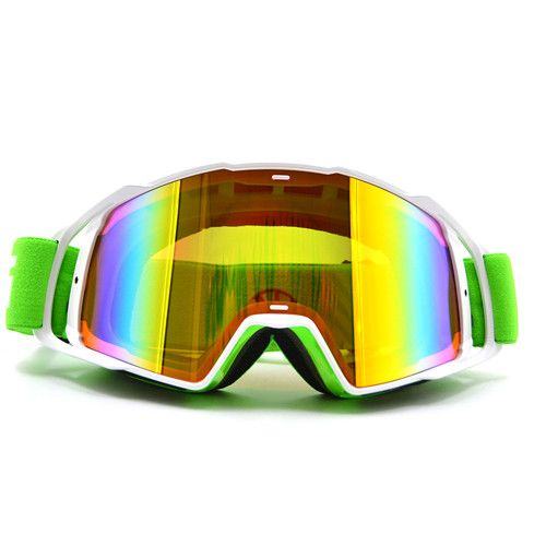MG-021B-WH-YE Motocross Goggles Glasses Men Women MX Off Road Helmets Sport Gafas Goggle For Dirt Bike
