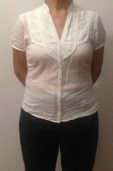 Fine cotton shirt, size 10