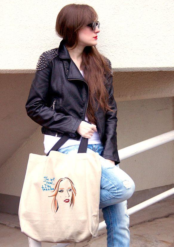 The Fame Monster / Lady Gaga キャンバスバッグ有名なアイコンとそれぞれの名言。キミを表現するのは、どれ?このキャンバスバッグで自分...|ハンドメイド、手作り、手仕事品の通販・販売・購入ならCreema。