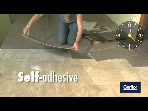 DIY - Installing Gerflor self adhesive tiles
