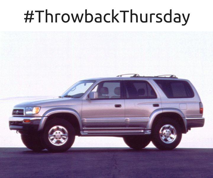 #TBT:  1996 Toyota 4Runner