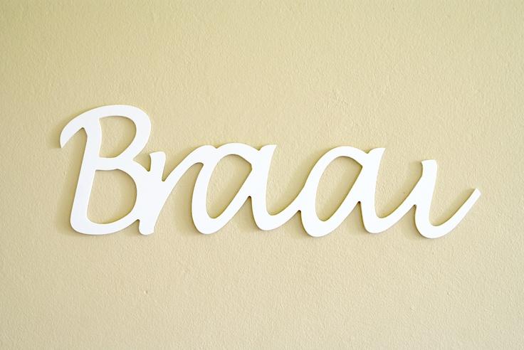 """Braai""   Size: 15cm high   Material: White PVC Foam 6mm thick   Cost: R120"