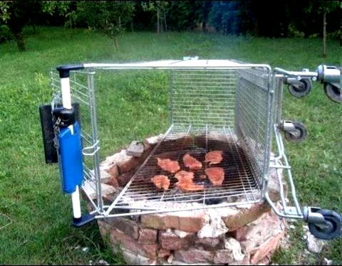 If you don't own a grill (don't try this at home)