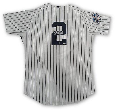Derek Jeter Signed Auto Authentic Jersey 2000 World Series Yankees SZ 48 Steiner