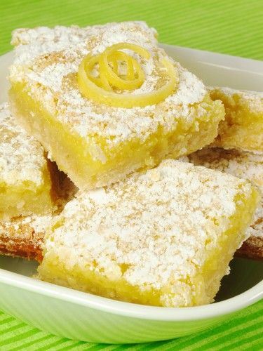 The Chew Viewer's Choice episode included Carla Hall's Triple Lemon Bars recipe, and for a lighter option, you could try the oatmeal crust from Daphne Oz.