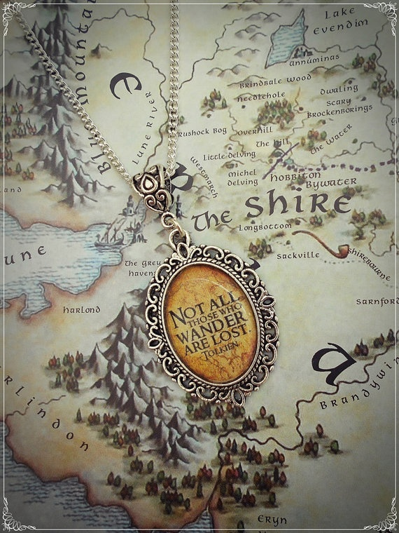 The Lord of the Rings J.R.R Tolkien Quote by BaroquenChord on Etsy, £5.00