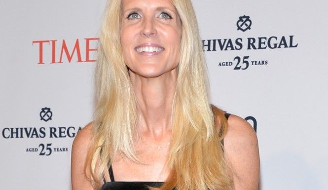 Before my friends and family rush to this yammering head's defense, be sure you know who you are defending. This is the bitch who condemned the widows of 9/11 and said they just wanted to profit from their husbands deaths.Ann Coulter Book Signing Disaster: